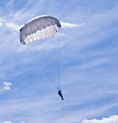 Прижок с парашутом