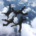 Стрибки з парашутом 4-way