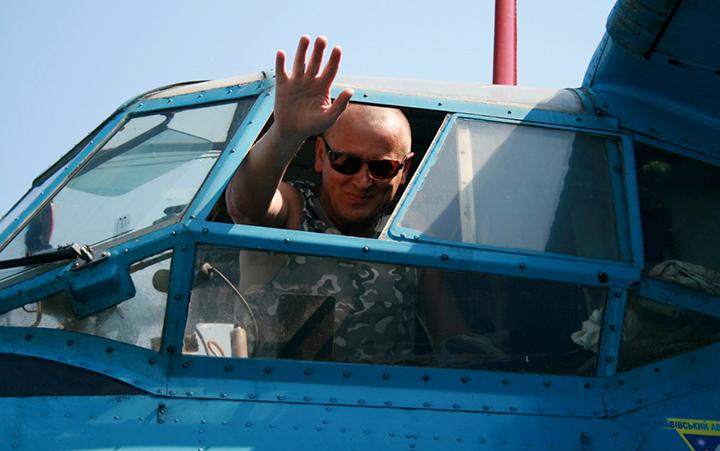 Орест Ярема - пілот ЛАСК