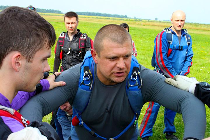 Костюк - командир парашутної ланки