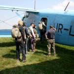 за 5 хвилин до першого стрибка з парашутом
