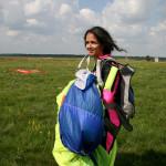 Чарівна спортсменка парашутистка