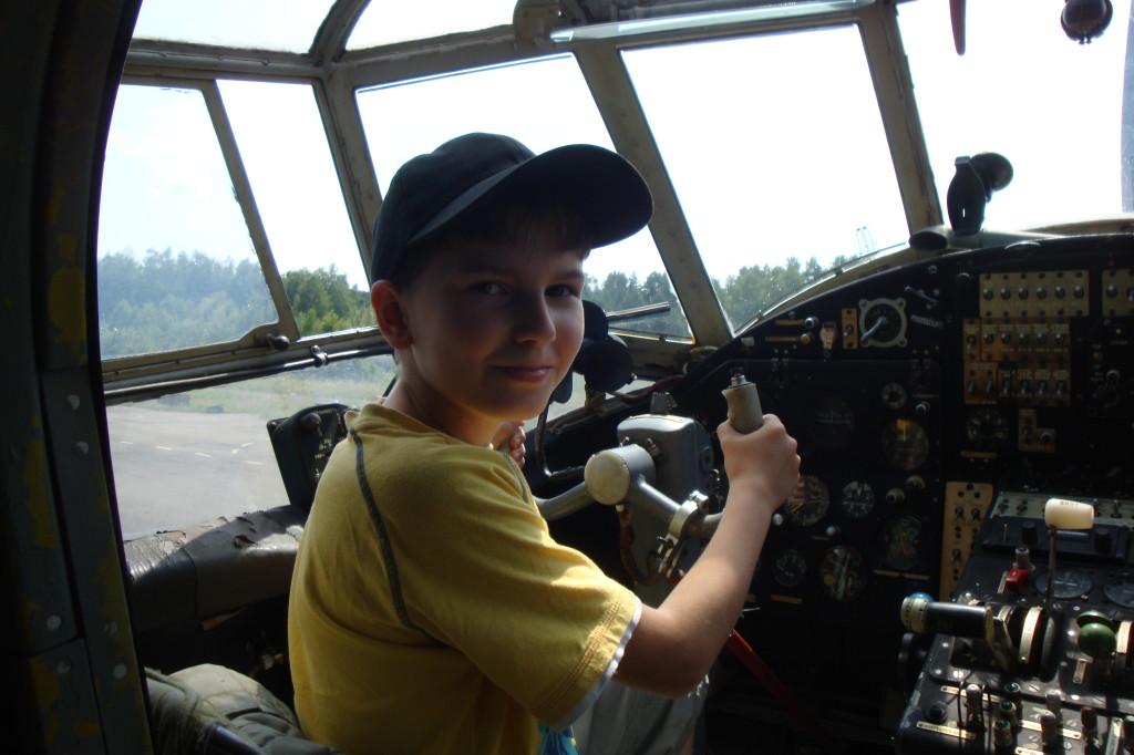 Майбутній пілот Ан-2
