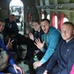 Група парашутистів в літаку